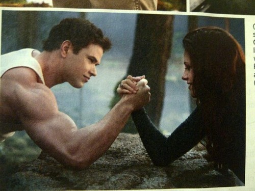 "Kristen Stewart wallpaper called Entertainment Weekly scans of Kristen in ""Breaking Dawn - Part 2""."