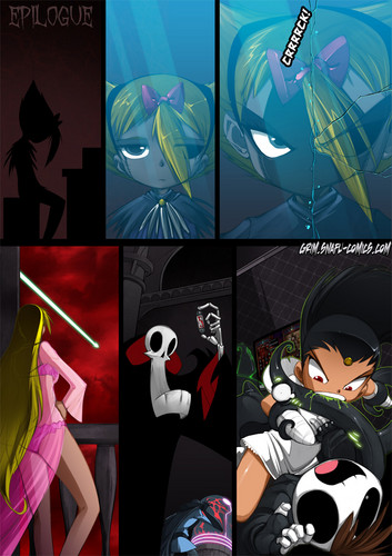 Grim Tales wallpaper possibly containing anime entitled Eventualities