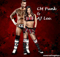 FOREVER - cm-punk-and-aj-lee photo