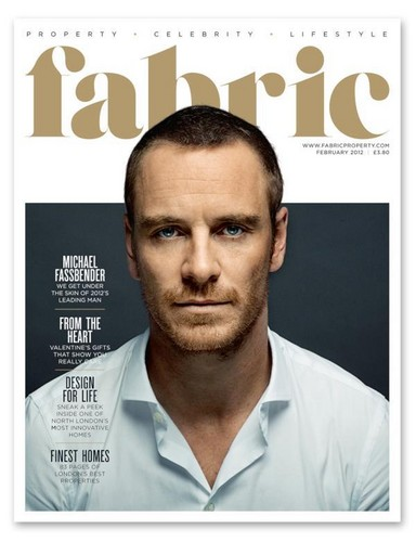 Fabric magazine cover february 2012