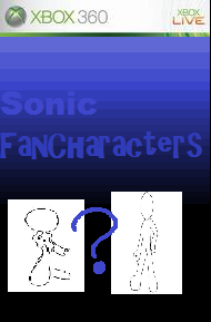 Fake Sonic Fancharacter Game