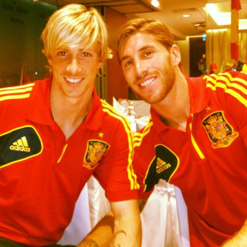 Fernando Torres wallpaper called Fernando&Sergio