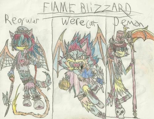 Flame Blizzard stuff