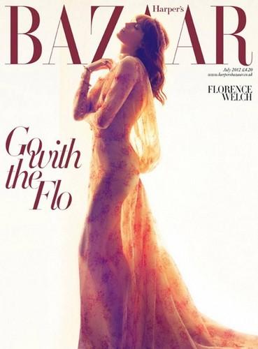 Florence Welch for Harper's Bazaar UK July 2012