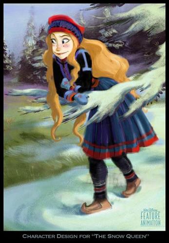 Frozen Character Rekaan