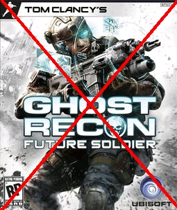 GHOST RECON FUTURE SOLDIER SUCKS!!