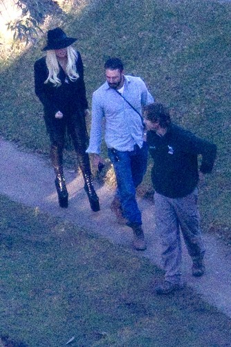Gaga and Taylor visiting a zoo in Sydney - lady-gaga Photo