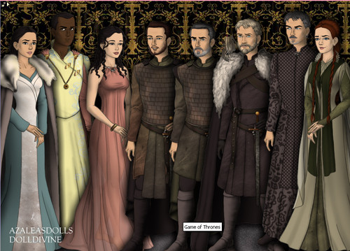Game of Thrones by Azalea!s Dolls and DollDivine