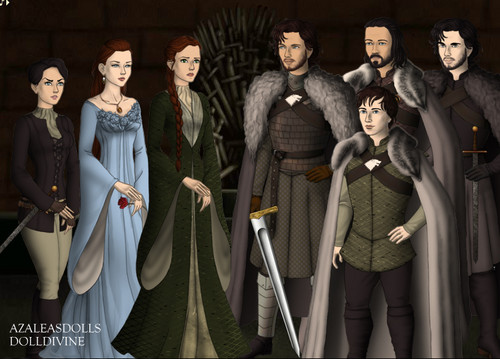 Game of Thrones by Azalea!s Dolls and DollDivine - game-of-thrones Fan Art