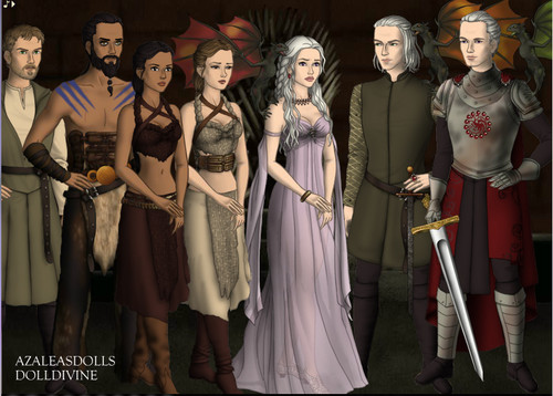 Game of Thrones por Azaleas bonecas and DollDivine