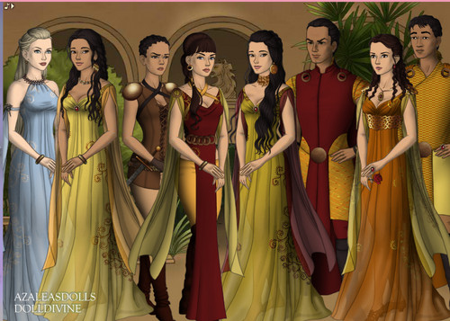 Game of Thrones sa pamamagitan ng DollDivine and Azalelas mga manika