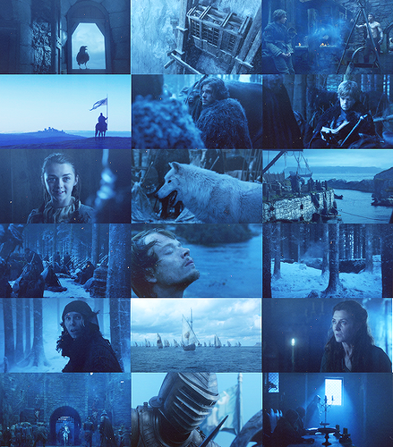Game of Thrones in colors: Blue