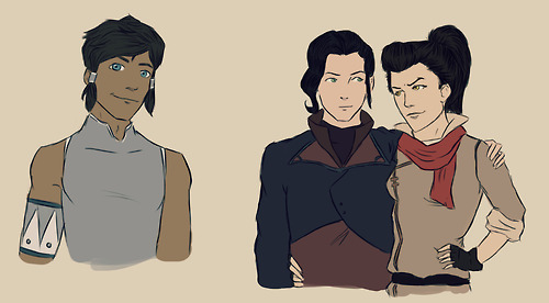 Avatar, La Légende de Korra fond d'écran possibly with animé entitled Genderbend