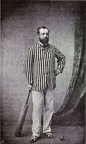 "George Frederick (""Fred"") Grace (13 December 1850 – 22 September 1880 )"