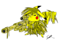 Ghillie Pikachu - pikachu photo