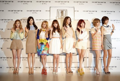 GiRL Launching Party sketch.- with Girls' generation