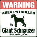 Giant Sign - giant-schnauzer fan art