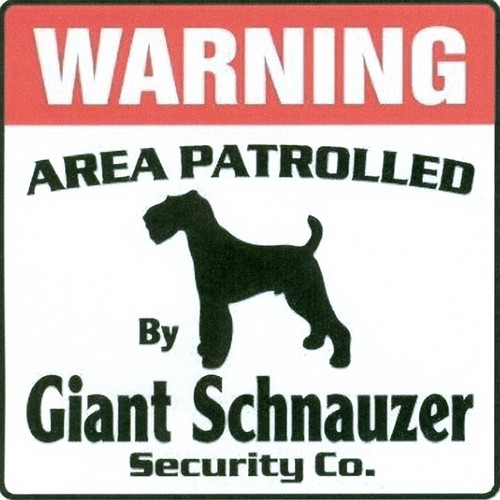 Giant Schnauzer wallpaper possibly with anime called Giant Sign
