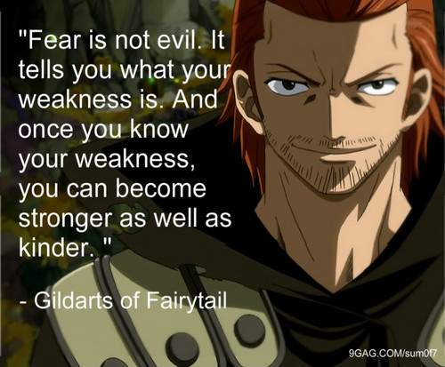 Gildarts Quote - Fairy Tail