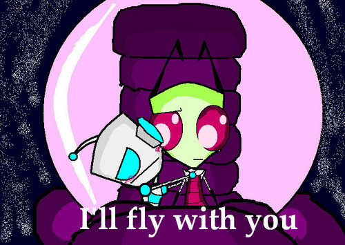 Gir: I 爱情 你 Zim!