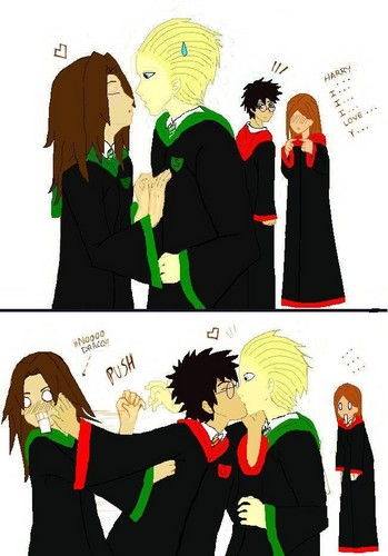 Go Harry! :P - harry-and-draco Fan Art