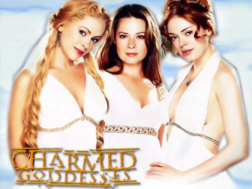 Charmed wallpaper containing a portrait entitled Goddesses Charmed