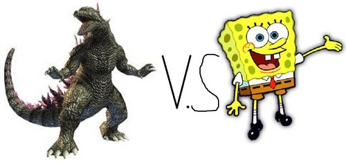 Godzilla vs Spongebob Squarepants