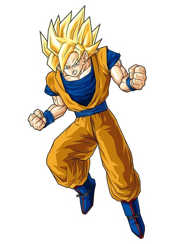 Dragon Ball Z fond d'écran entitled Goku SSJ5