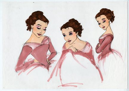Gorgeous Belle fan art - disney-princess Fan Art