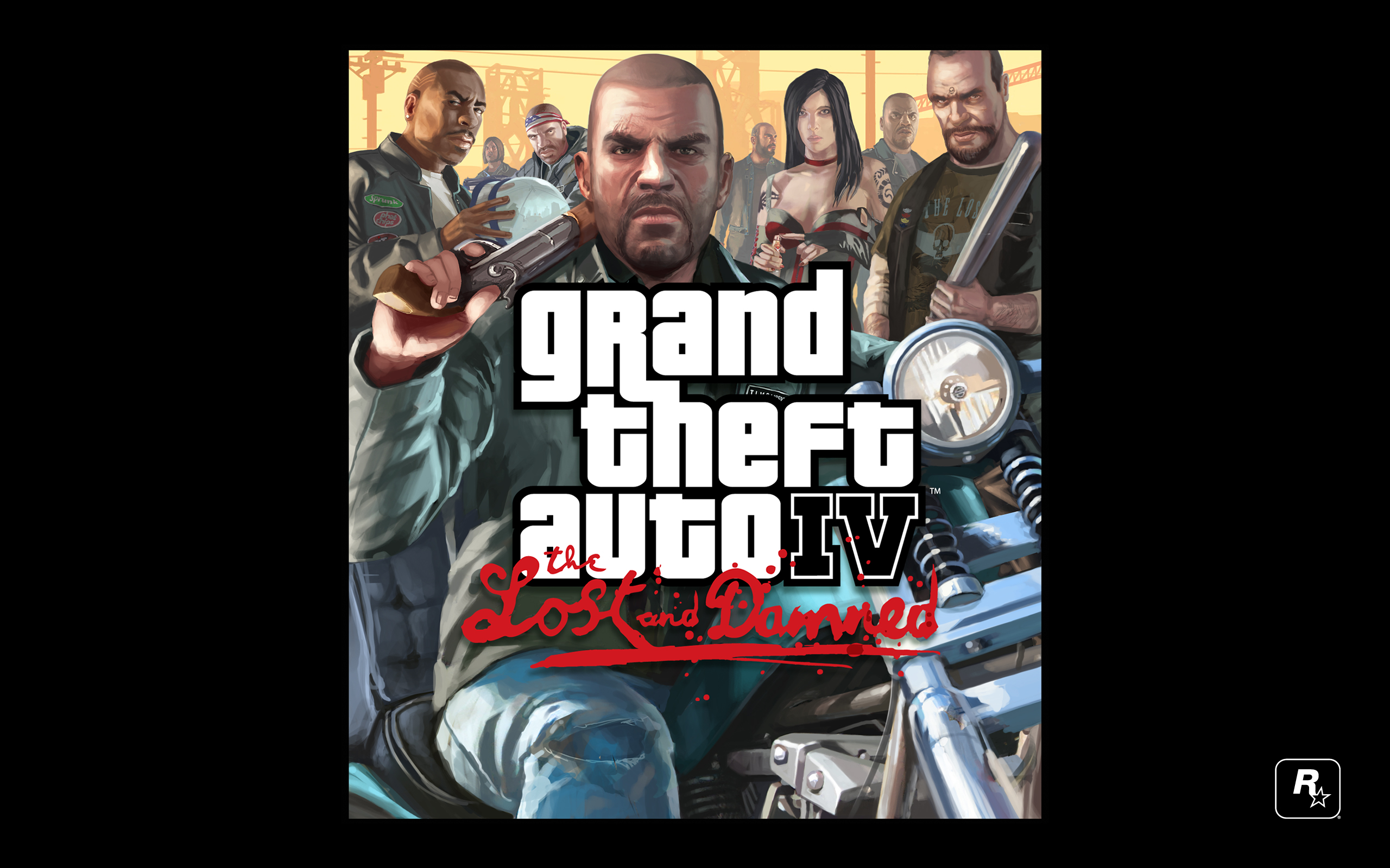 Grand Theft Auto IV The Lost And Damned fond d'écran