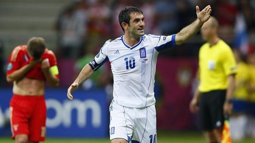 "Greece is in the শীর্ষ ""8"" football teams in Europe!"