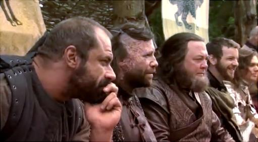 Gregor, Sandor, Robert, Renly & Loras- BTS litrato