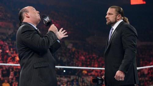 HHH and Heyman discuss Lesnar