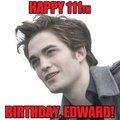 Happu birthday Edward - twilight-series photo
