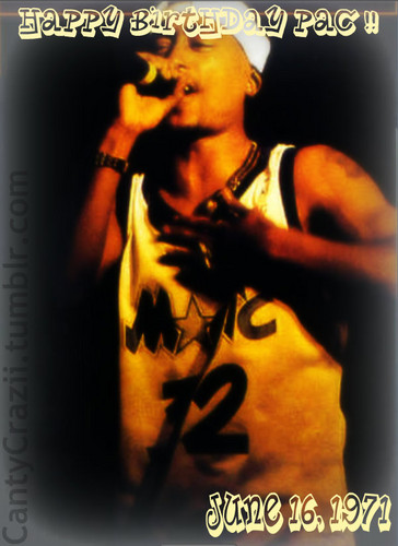 Tupac Shakur wallpaper containing a concert called Happy Birthday !