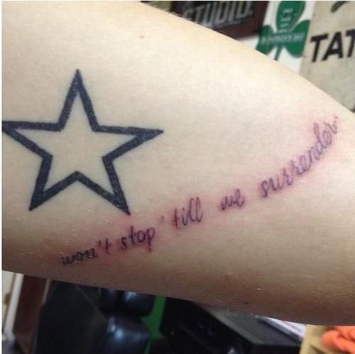 Harry's Newest Tattoo