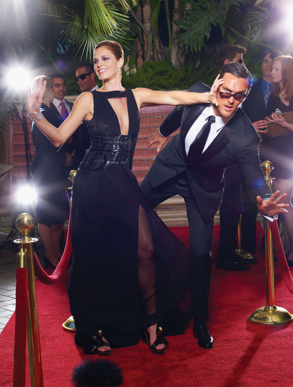 Owain Yeoman & Amanda Righetti images How to Survive Award Season HD wallpaper and background