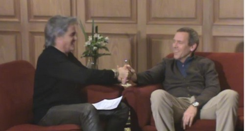 Hugh Laurie and Roberto Pettinato- Argentina - hugh-laurie Photo