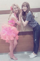 Hyoyeon & Jessica @ Dancing with Stars 2