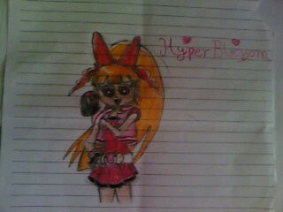 powerpuff girls Z 바탕화면 entitled Hyper blossom