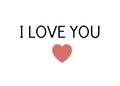 I 爱情 你 ♥