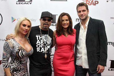 """Ice-T Attending """"Something From Nothing: The Art Of Rap"""" Screening"""