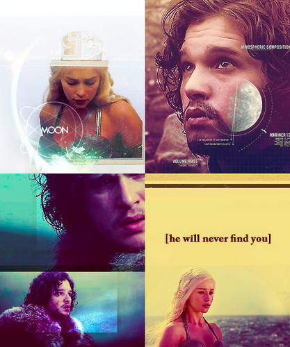 Ice and Fire/ Jon and Dany