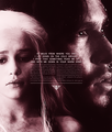 Ice and Fire/ Jon and Dany - jon-and-daenerys fan art