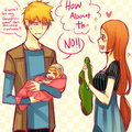 IchiHime : baby clothe by orihichan - ichigo-and-orihime fan art