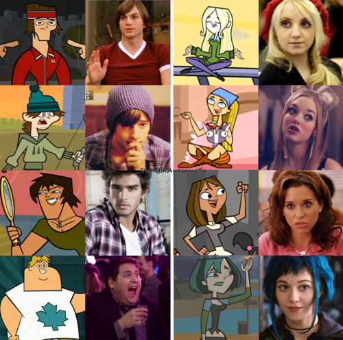 Total Drama Island karatasi la kupamba ukuta containing anime entitled If Total Drama Characters Were Real Part 2.