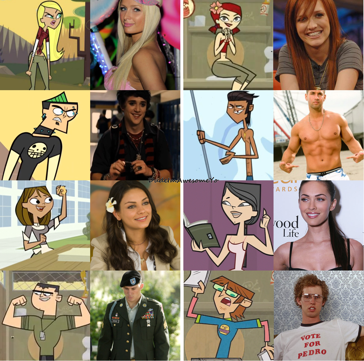 If Total Drama Characters Were Real.