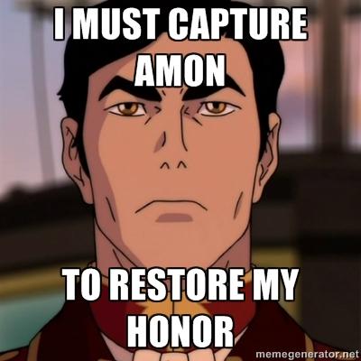 Iroh's honor