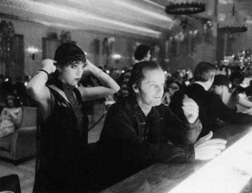 Jack Nicholson and Vivian Kubrick
