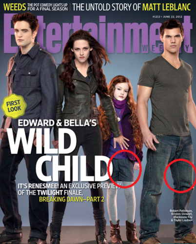 Siri-siri Twilight kertas dinding probably containing Anime entitled Jacob and Renesmee - Matching Outfits!